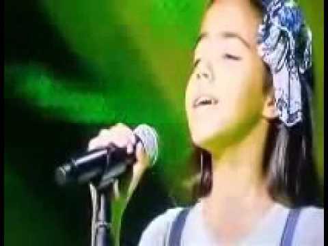 برضاك   التونسية نور قمر   أحسن صوت  The voice kids   Noor Qamar