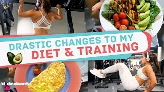 Drastic Changes To My Diet & Training  - No Sweat: EP17