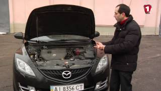 Обзор б/у автомобиля Mazda 6 в кузове GH, 2.5 бензин, 2011 года
