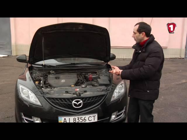 """Тест-драйв б.у.-шной Mazda 6 в кузове GH, 2.5 бензин, 2011 года от """"Автоцентр ТВ""""."""