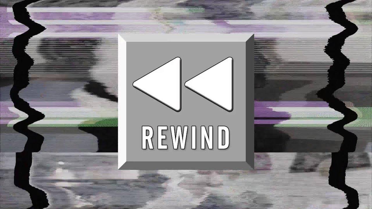 4K Distortion Pause Play Rewind Effect