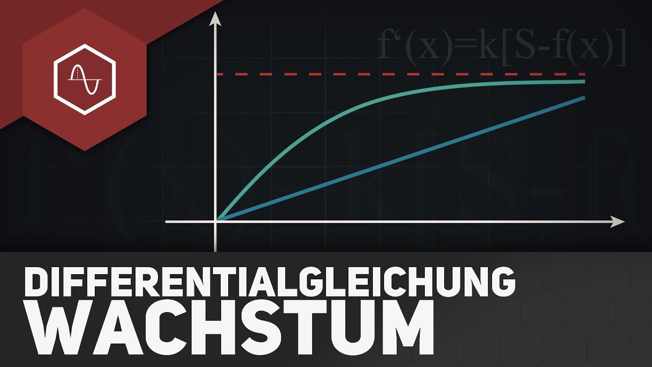 Differentialgleichung beim Wachstum ○ Gehe auf SIMPLECLUB.DE/GO ...