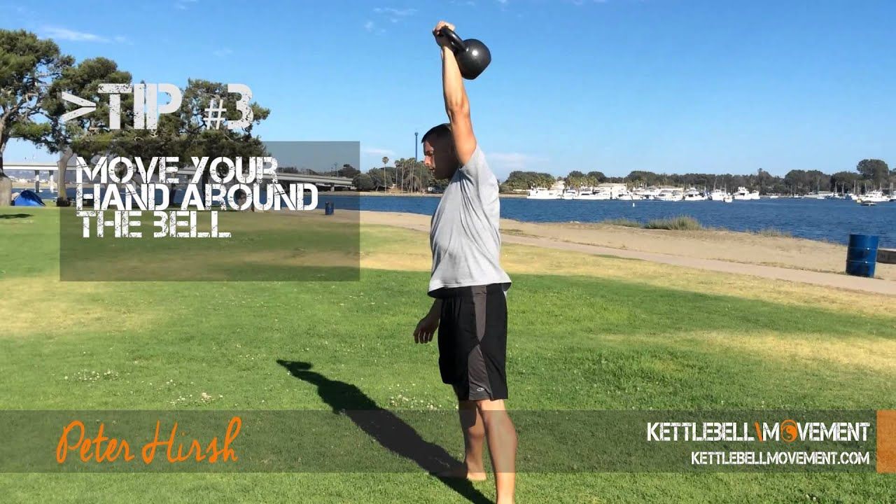 Kettlebell Snatch Tutorial