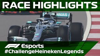 Challenge Heineken Legends: Race Highlights | F1 Esports
