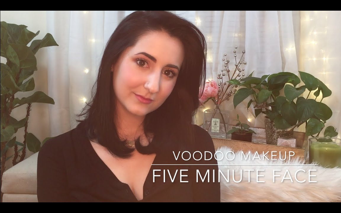 Voodoo makeup five minute face youtube baditri Images