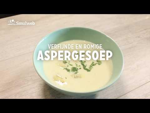 Receptvideo Aspergesoep