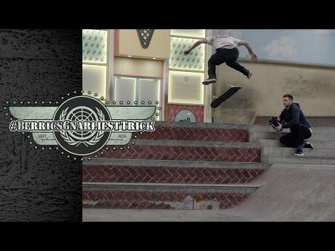 The Gnarliest Trick Ever At The Berrics WINNER: Yoshi Tanenbaum | Berrics Gnarliest Trick