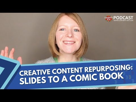 Creative Content Repurposing: Slides to a Comic Book