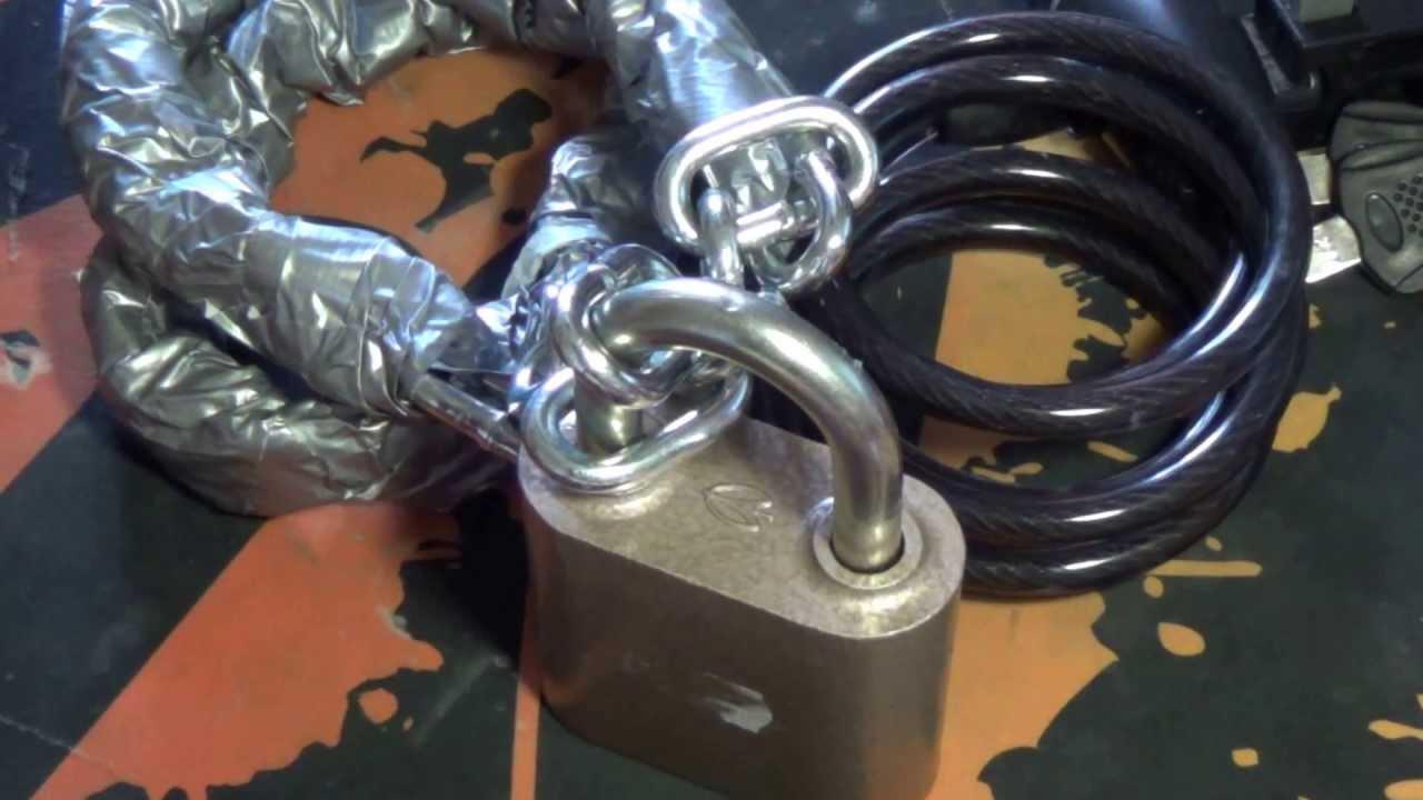 Как разъединить, расклепать, разомкнуть, велосипедную цепь. Снять .