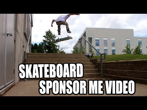 SKATEBOARD SPONSOR ME VIDEO 2017 MARCUS GREEN