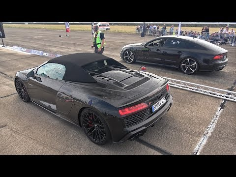 Audi R8 V10 Performance Vs Audi RS7 Sportback