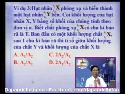 Ôn thi Đại học – Tốt nghiệp môn Vật Lý Bài 33 + 34 – Thầy Võ Lý Văn Long