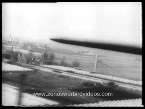 Daring low level RAF bombing attack on Philips Eindhoven radio plant -1943