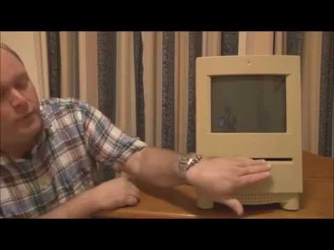 Apple Macintosh Color Classic (1993) Start Up, Full Tour and Demonstration