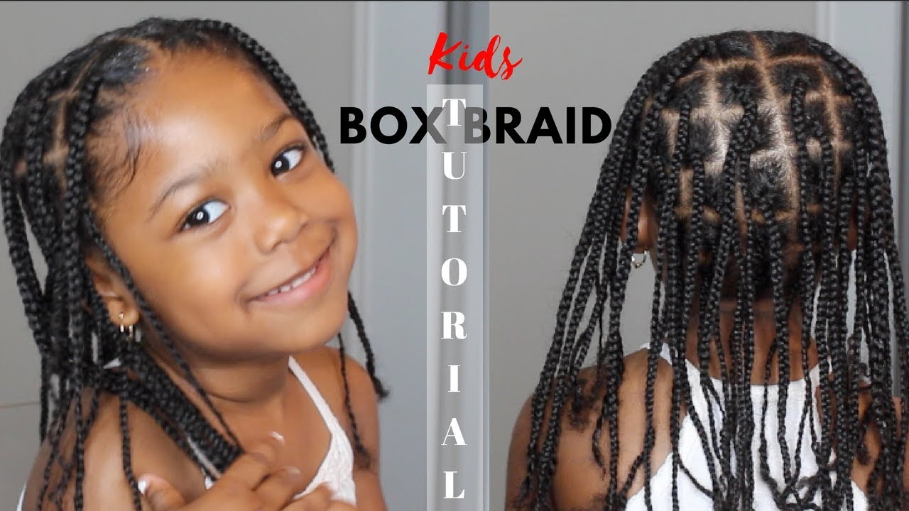 Kids Box Braid Tutorial , *No Extensions Added