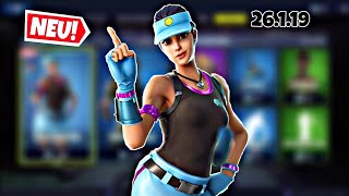 FORTNITE DAILY ITEM SHOP 26.1.19 | NEUER VOLLEY GIRL SKIN IST DA!!