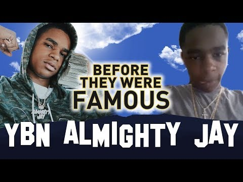 YBN ALMIGHTY JAY  Before They Were Famous  Biography Blac Chyna Boyfriend