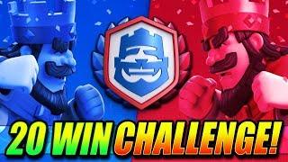 LAST CHANCE - 20 WIN CRL CHALLENGE!! - LIVE - Clash Royale