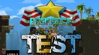GED TU DA CHOPPAH Broforce Brototype Demo Download Trailer Gameplay Deutsch HD
