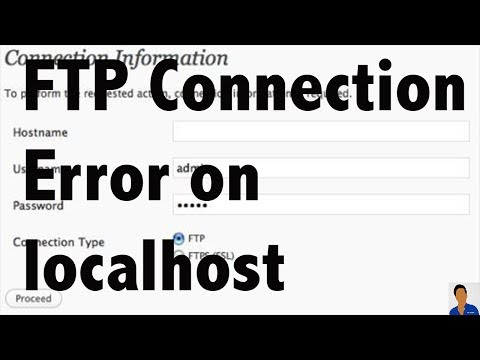 При обновлении wordpress просит ftp