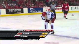 Championnat du monde junior 2012 - Demi-finale Russie vs Canada