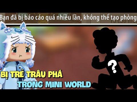 Meowpeo bị trẻ trâu tố cáo trong Mini World không thể mở được phòng và cái kết đắng