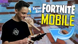 FAST MOBILE BUILDER on iOS / Duos with ONE_Shot_GURL / 690+ Wins / Fortnite Mobile + Tips & Tric