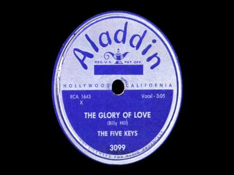 78 RPM: The Five Keys - The Glory Of Love