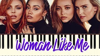 Woman Like Me-Little Mix ft Nicki Minaj (Piano Tutorial Synthesia)