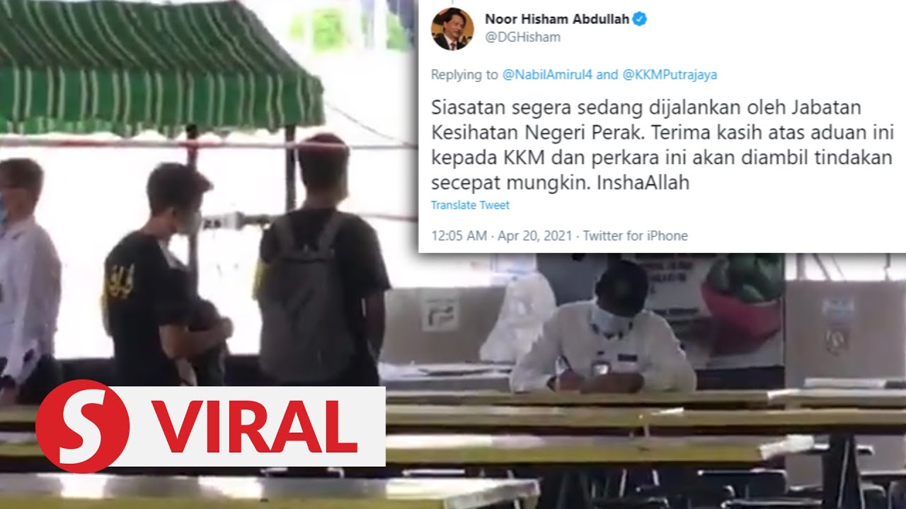 Matriculation students allegedly slapped with RM1,500 fines, Health DG says probe ongoing