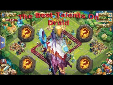 The Best Talents On Druid!