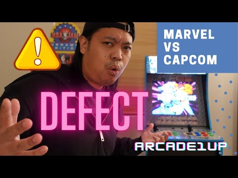 New Arcade1up Marvel vs Capcom Defective from HappyFunnyGaming
