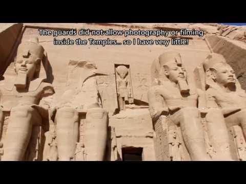 Journey to Egypt: Abu Simbel & Aswan