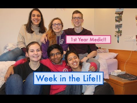 1st Year Medic\\Week In The Life!