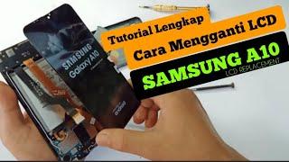 Tutorial Ganti Lcd Samsung A10 // RESTORASI SAMSUNG A10