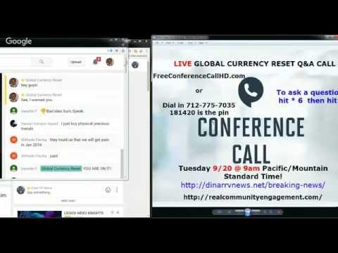 LIVE Breaking News - Private Currency Exchanges - NDA Warnings