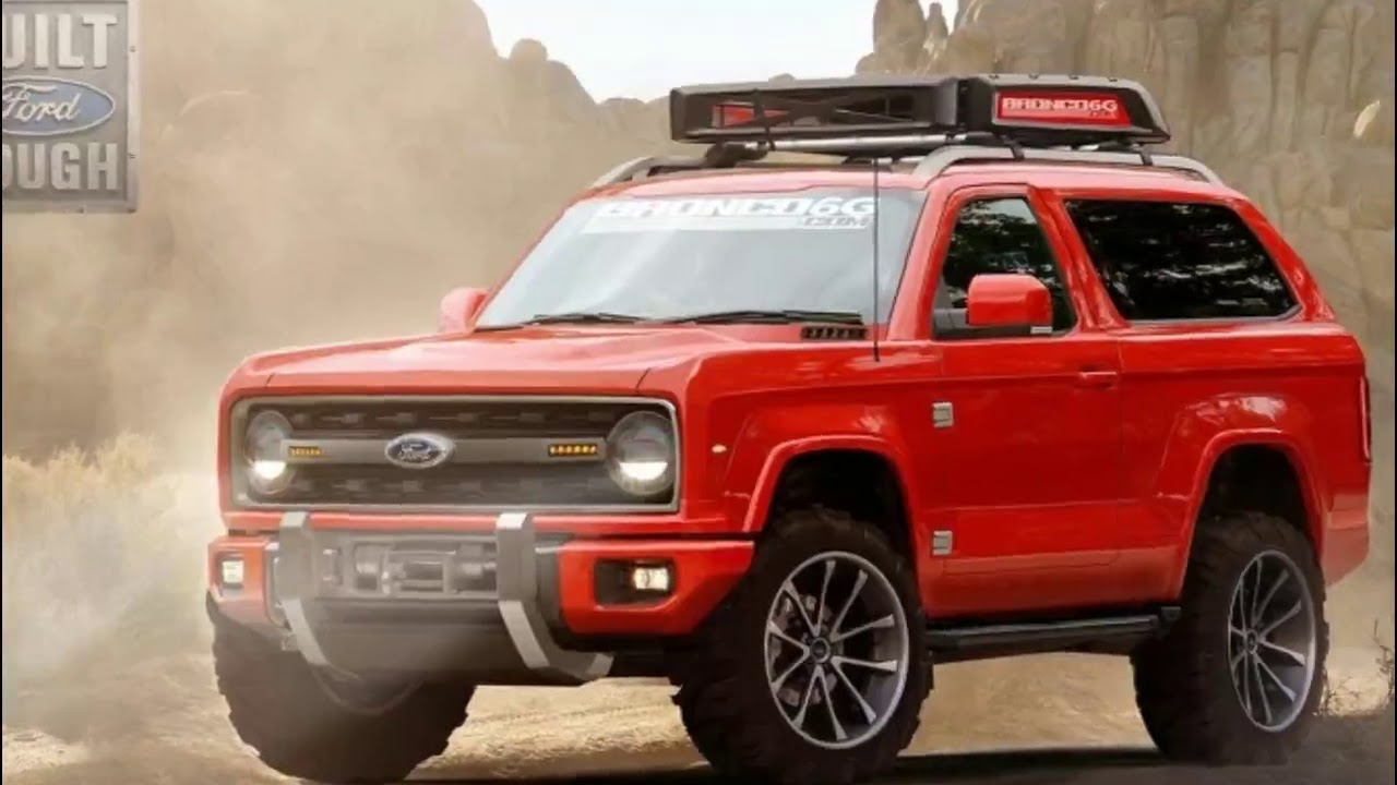 WOW 2020 Ford Bronco Concept