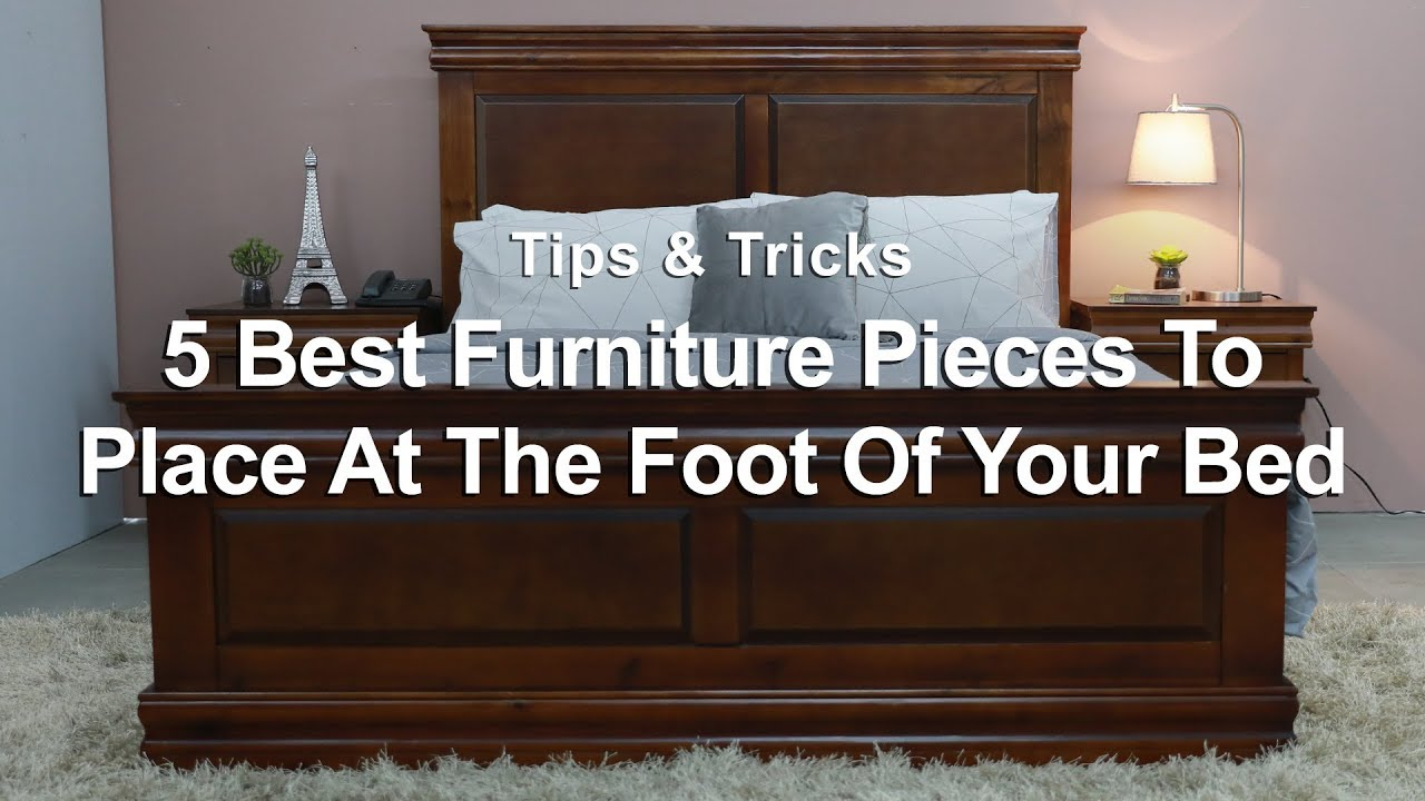 Foot Of The Bed easiest ways to style the foot of your bed | mf home tv