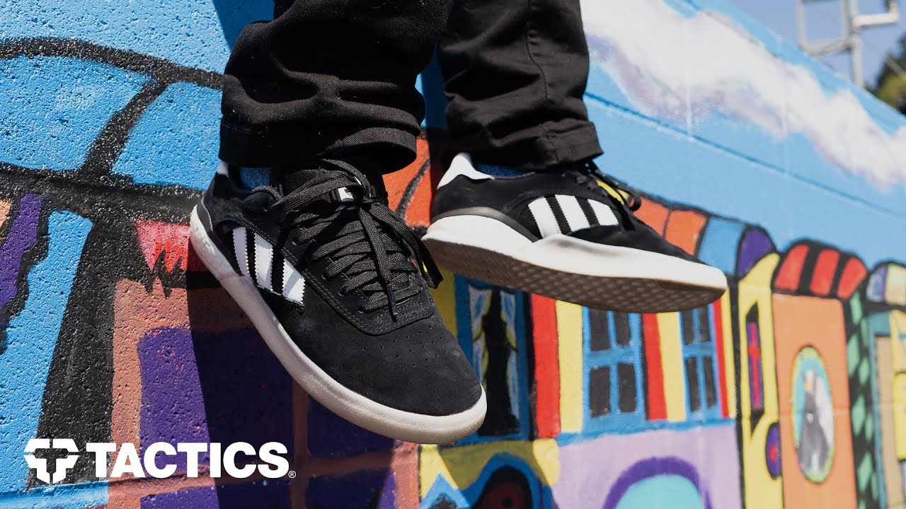 Adidas 3ST.004 Skate Shoes Wear Test Review Tactics