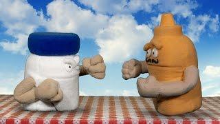 Condiment Challenge: Mayo vs. Mustard