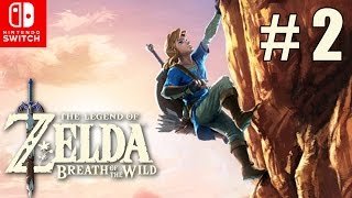 Escalando hacia el Infinito | Zelda Breath of the Wild en Latino | Parte #2 - N Switch - ZetaSSJ