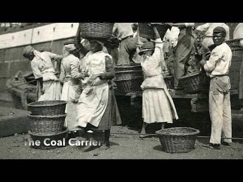Vintage Virgin Islands ~ A Sunday in St. Thomas, Danish West Indies ~ 1900