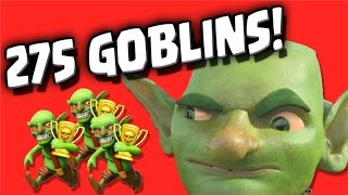 """Clash of Clans """"275 Goblins"""" and Peter17$ Gets a Channel of His Own!"""