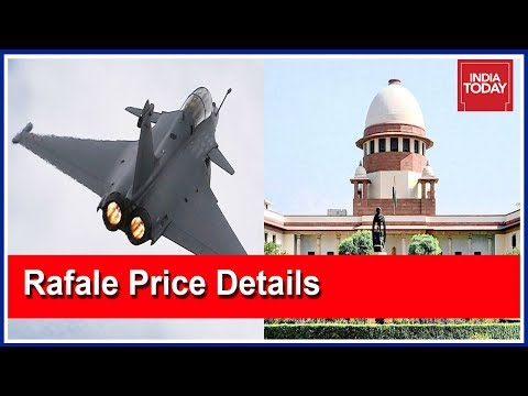 Centre Submits Rafale Price Details To Supreme Court