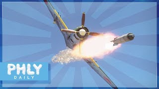 JAPANESE NUKE ROCKET | Tiny Tim/Tiny Ivan  for JAPAN (War Thunder Plane Gameplay)