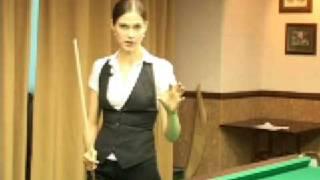 Урок бильярда № 4  отрабатываем прямые удары