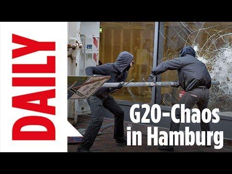 G20 - Ausnahmezustand in Hamburg - Polizei fordert Verstärkung / BILD DAILY live Spezial 7.7.17