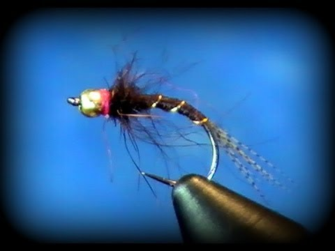 Two Minute Fly Tying: WMD Hot Spot Nymph