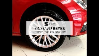 SEAT LEON STYLE STD 150 HP ROJO DESEO CON GUSTAVO REYES DISPONIBLE