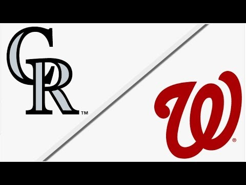Colorado Rockies vs Washington Nationals | Full Game Highlights | 4/14/18